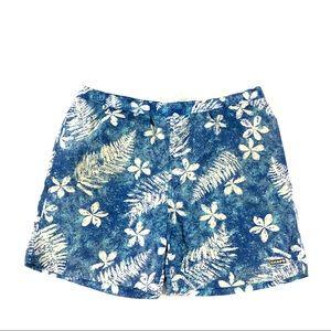 Chaps Men's Blue Swim Trunks XL